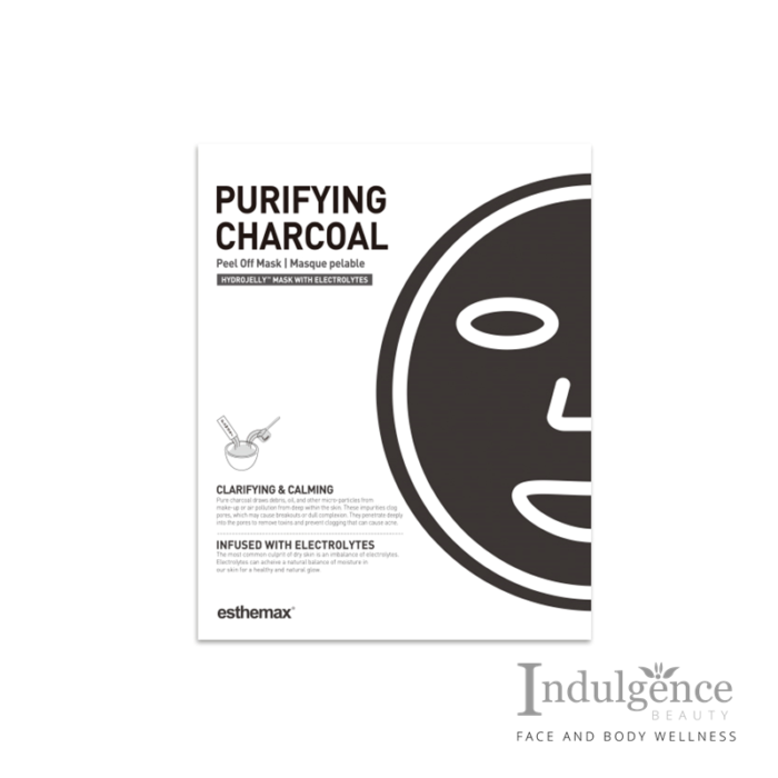 ESTHEMAX PURIFYING CHARCOAL HYDROJELLY MASK