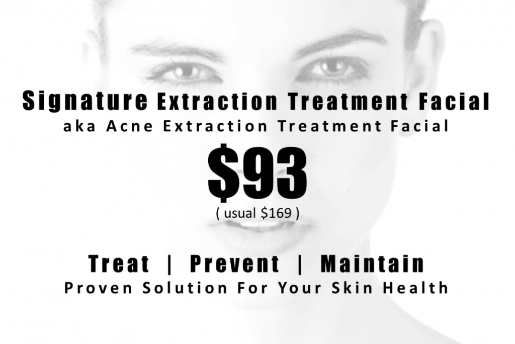 Facial Treatment Singapore, Acne Facial Singapore