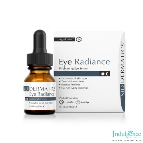 eye radiance serum box bottle