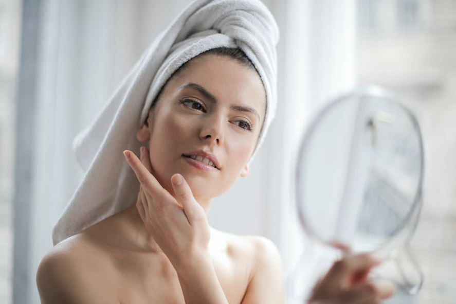 maintain clear skin with acne facial